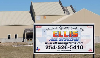 Ellis Air Systems Office Texas